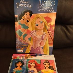 Disney Princess Combo coloring book & 24 crayons